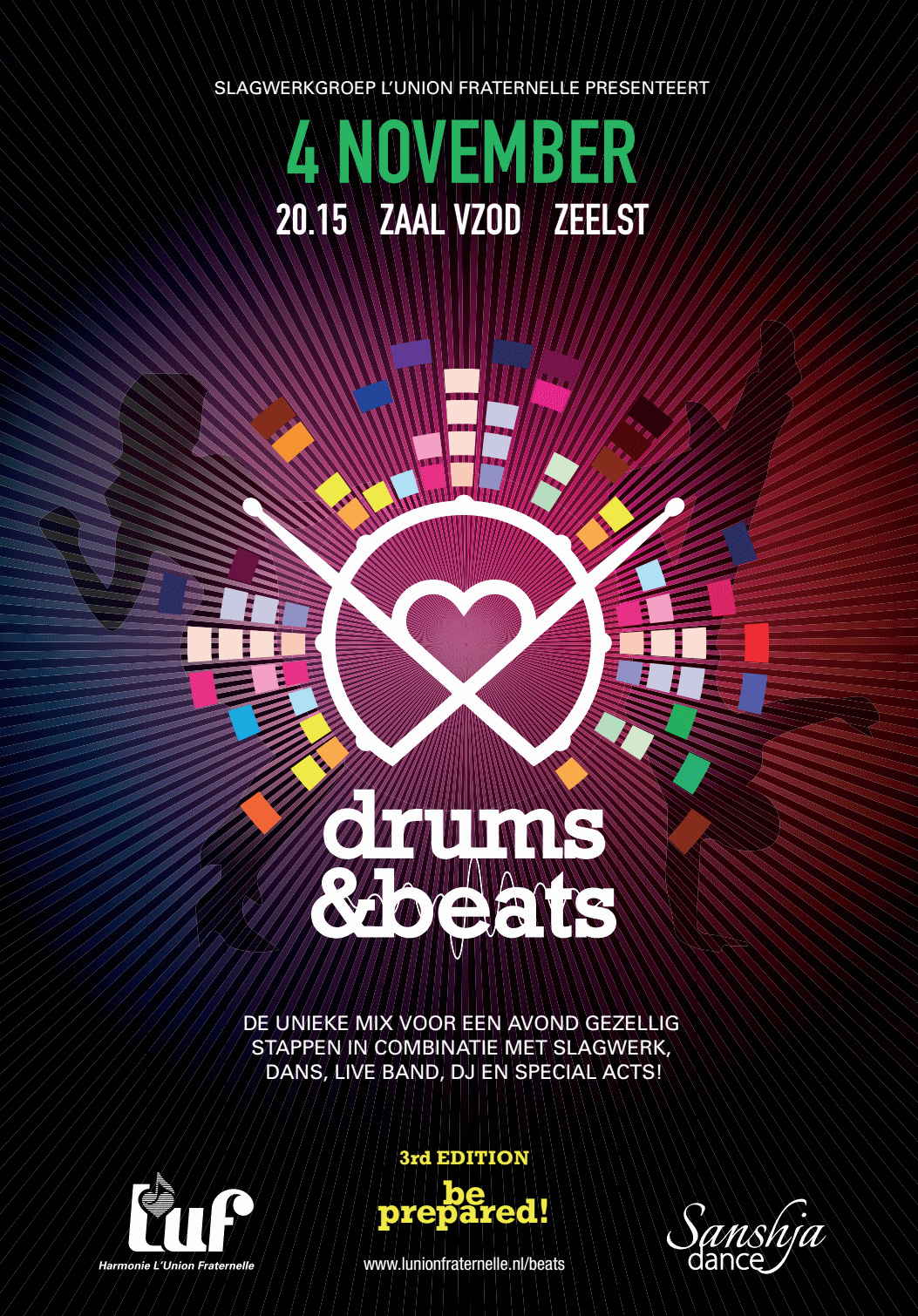 Drums& Beats Flyer Front